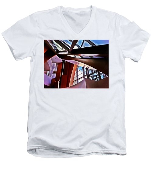 Urban Abstraction Men's V-Neck T-Shirt