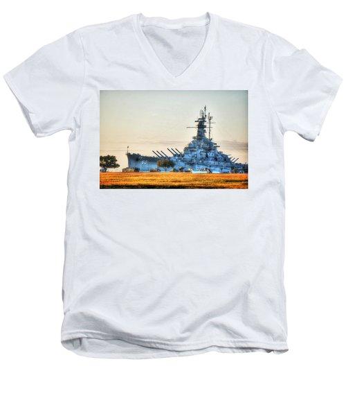 Uss Alabama Men's V-Neck T-Shirt