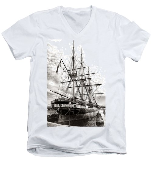 Uss Constellation Men's V-Neck T-Shirt