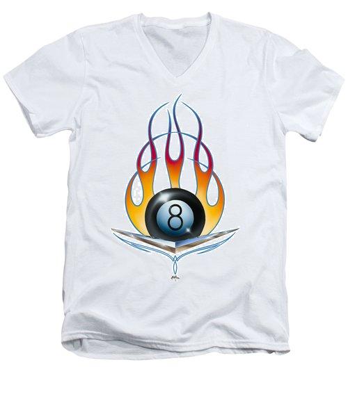 V 8 Men's V-Neck T-Shirt