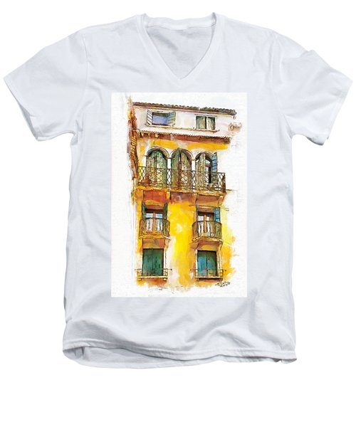 Radiant Abode Men's V-Neck T-Shirt