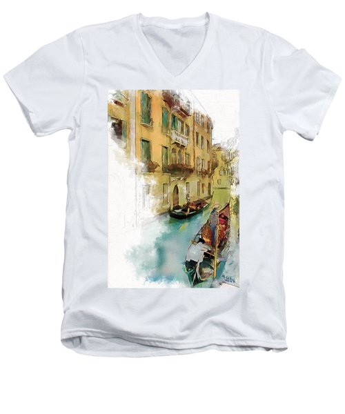 Venice 1 Men's V-Neck T-Shirt