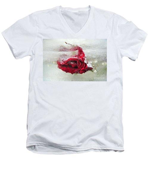 Victim Of Anti-aging Men's V-Neck T-Shirt by Randi Grace Nilsberg