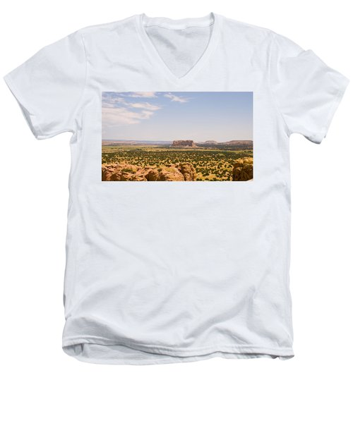 View From Acoma Mesa Men's V-Neck T-Shirt