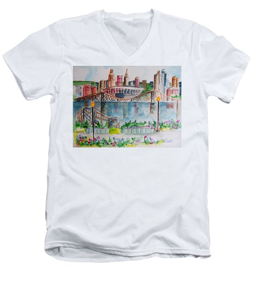 View From Devou Men's V-Neck T-Shirt