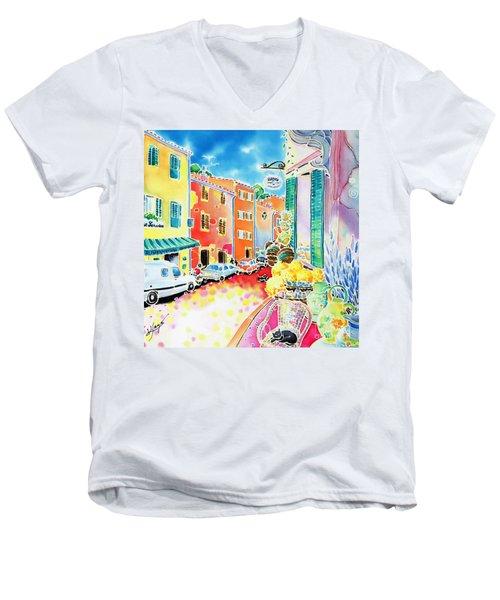 Ville Lumineuse Men's V-Neck T-Shirt