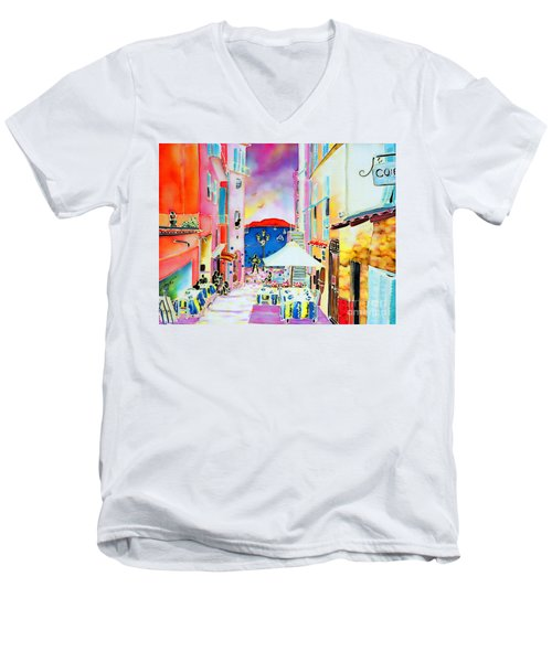 Villefranche Men's V-Neck T-Shirt
