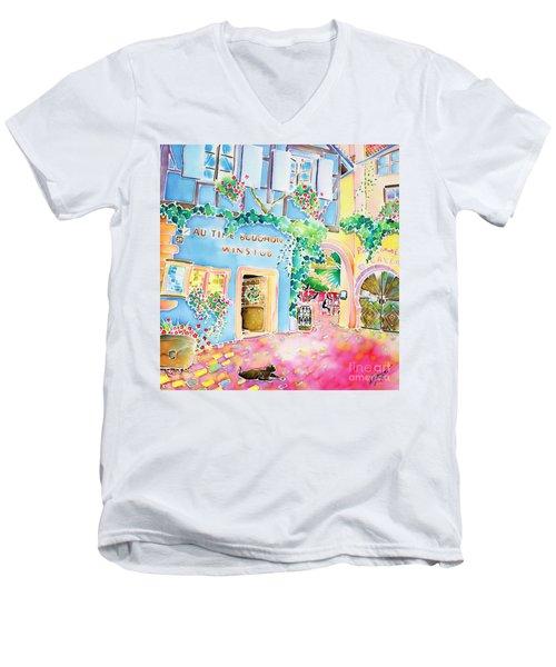 Vin Nouveau Men's V-Neck T-Shirt