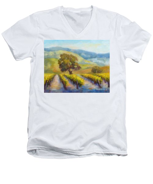 Vineyard Gold Men's V-Neck T-Shirt