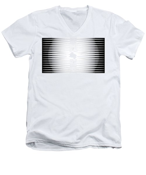Vision Chamber Men's V-Neck T-Shirt by Kevin McLaughlin