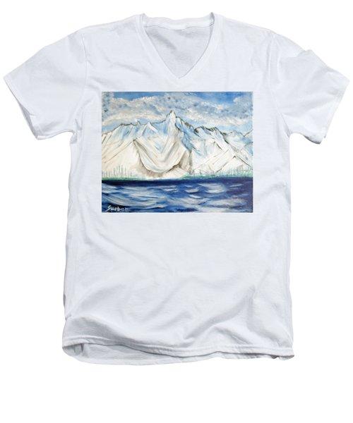 Vision Of Mountain Men's V-Neck T-Shirt