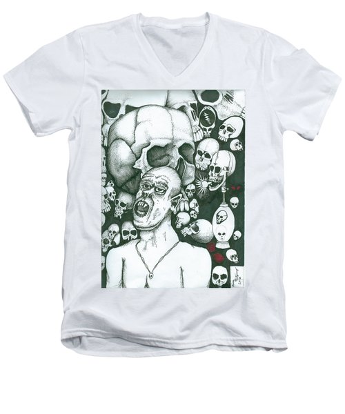 Visions Men's V-Neck T-Shirt
