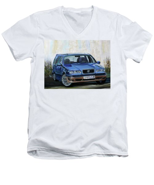 Volvo Men's V-Neck T-Shirt