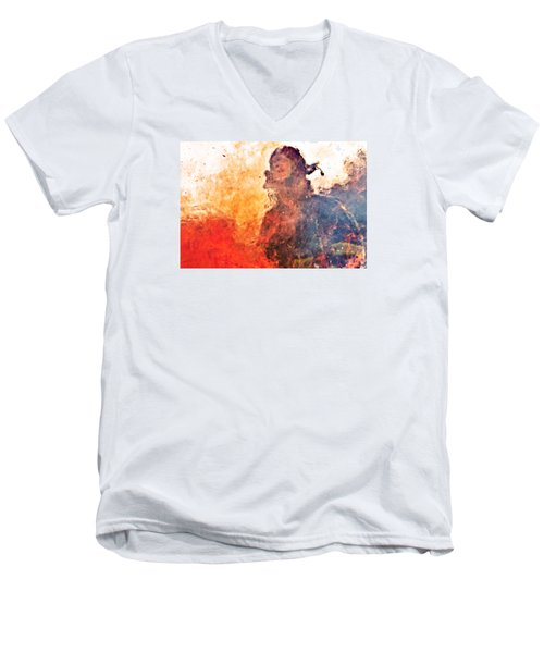 Walk Through Hell Men's V-Neck T-Shirt