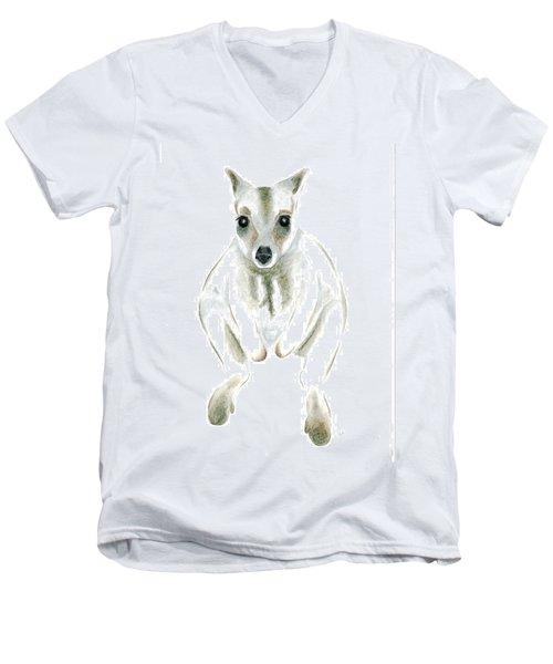 Wallaby I Men's V-Neck T-Shirt