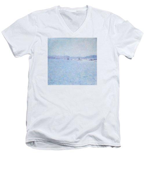 Water At Cannes France Men's V-Neck T-Shirt