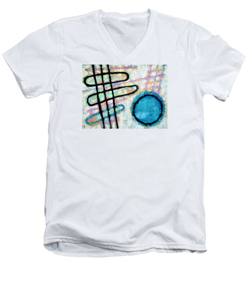 Water Frequency Men's V-Neck T-Shirt by Maria Huntley