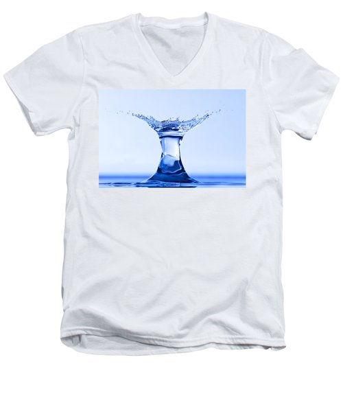 Water Splash Men's V-Neck T-Shirt