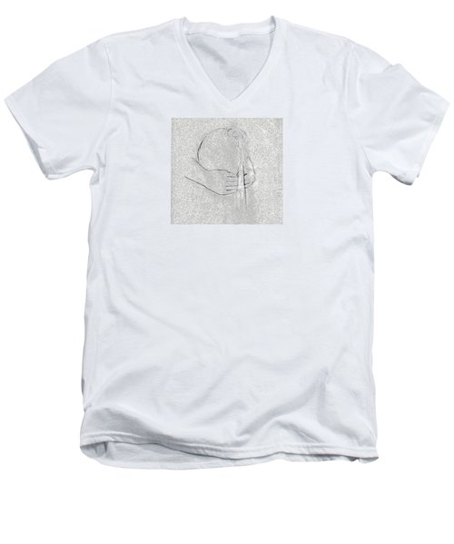 Men's V-Neck T-Shirt featuring the photograph Waters Of Life by I'ina Van Lawick
