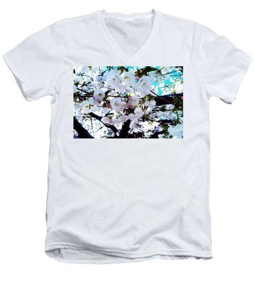 Blanche Men's V-Neck T-Shirt