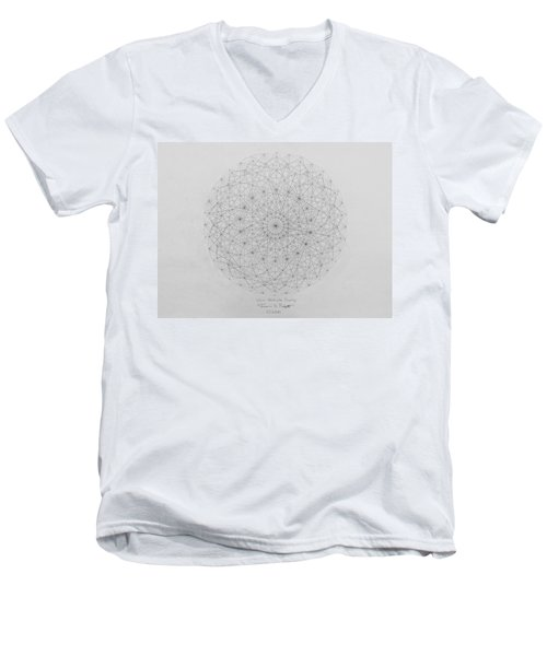 Wave Particle Duality Original Men's V-Neck T-Shirt