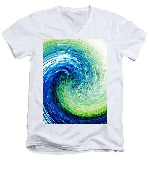 Wave To Van Gogh Men's V-Neck T-Shirt