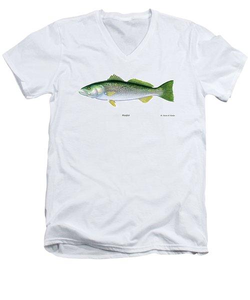 Weakfish Men's V-Neck T-Shirt