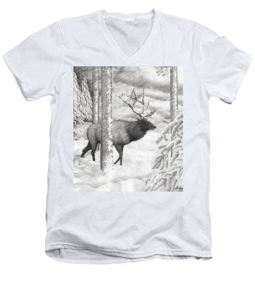 Weathering The Storm Men's V-Neck T-Shirt