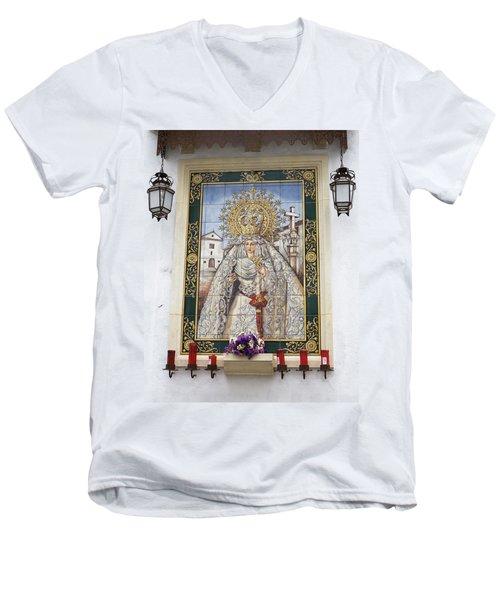 Weeping Virgin Men's V-Neck T-Shirt