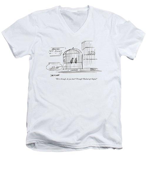 We're Men's V-Neck T-Shirt