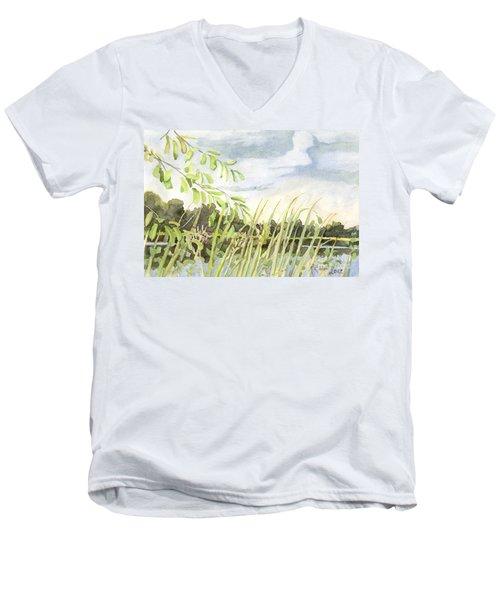 West Bay Napanee River Men's V-Neck T-Shirt