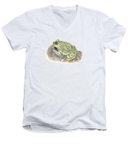 Western Spadefoot Men's V-Neck T-Shirt