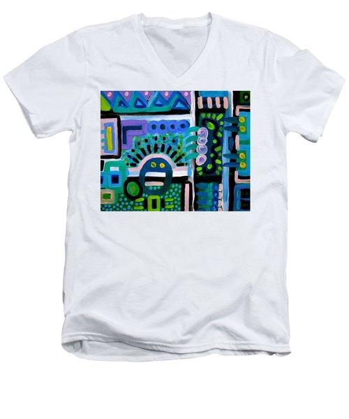 Whaaat Men's V-Neck T-Shirt