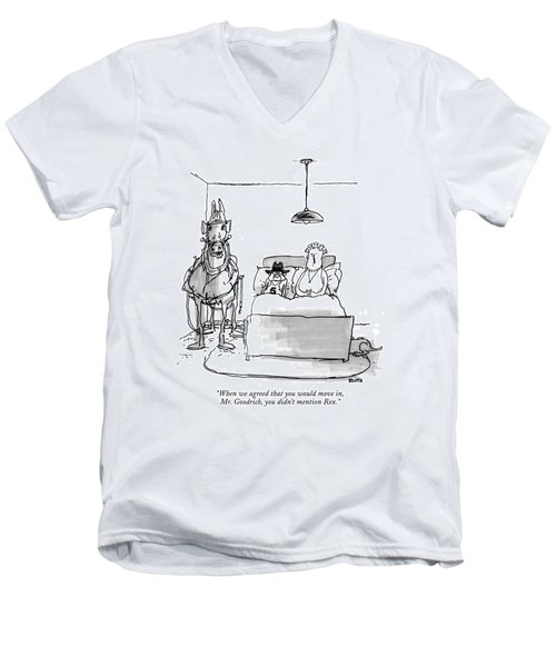 When We Agreed That You Would Move Men's V-Neck T-Shirt