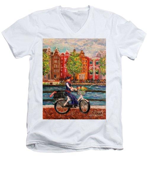 Where To ... Amsterdam Men's V-Neck T-Shirt