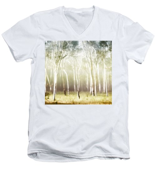 Whisper The Trees Men's V-Neck T-Shirt