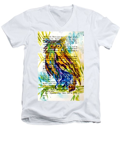 Who Is That Men's V-Neck T-Shirt