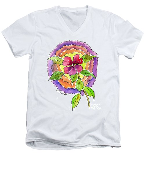 Wild Wildflower Men's V-Neck T-Shirt