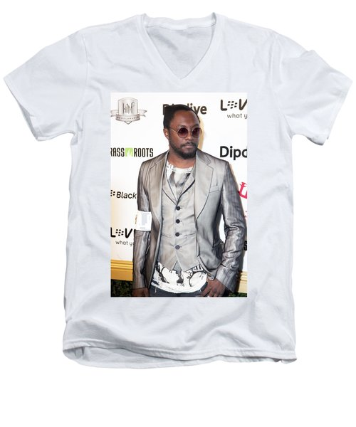Will.i.am Men's V-Neck T-Shirt