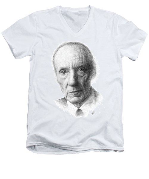 William S. Burroughs Men's V-Neck T-Shirt