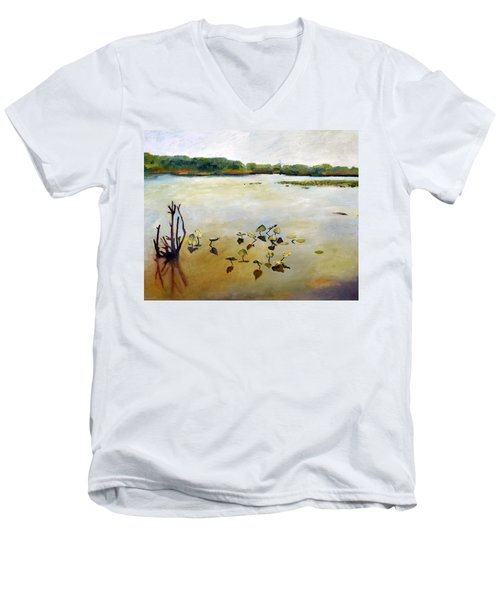 Window On The Waterfront Men's V-Neck T-Shirt