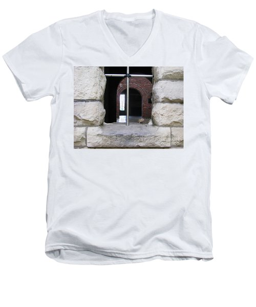 Window Watcher Men's V-Neck T-Shirt