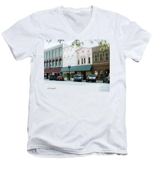 Windows On The Square Men's V-Neck T-Shirt