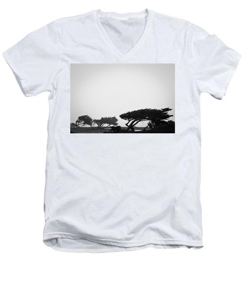 Windswept Shoreline Men's V-Neck T-Shirt