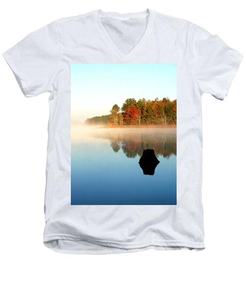 Winnsboro Reservoir-1 Men's V-Neck T-Shirt