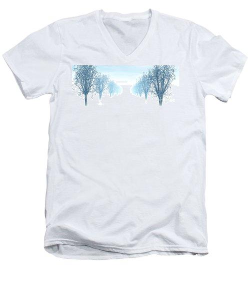 Winter Avenue Men's V-Neck T-Shirt