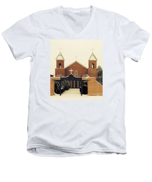 Winter Church Men's V-Neck T-Shirt