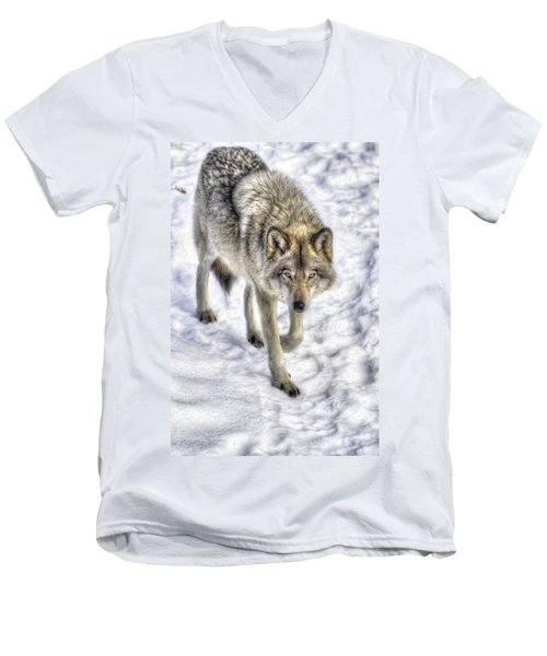 Winter Hunter Men's V-Neck T-Shirt