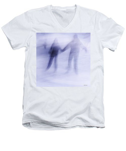 Winter Illusions On Ice - Series 1 Men's V-Neck T-Shirt