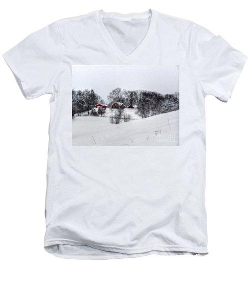 Winter Landscape 5 Men's V-Neck T-Shirt